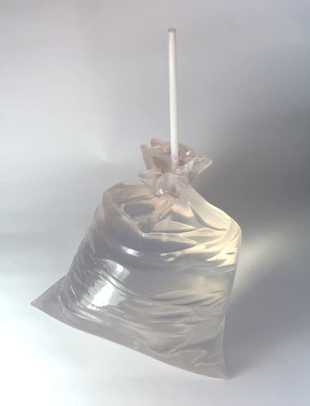 """Space in plastic bag"" 2009"